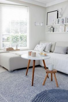 Tolle Idee Zwei Runde Teppiche übereinander! Mal Was Anderes Für Das  Wohnzimmer. Noch Mehr