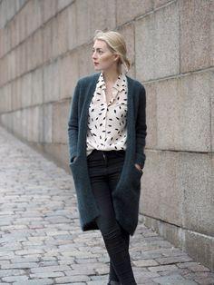 Päivän teema: pusuhuulet | OOTD, style, outfit, Sonia Rykiel, plum lipstick - Pupulandia | Lily.fi
