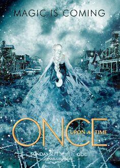 September 30, 2014 Storybrooke meets Elsa #Frozen