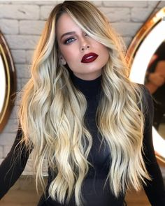 Creative Blonde Such A Beautiful Hair Color Ideas 2019 Haircut For Square Face, Square Face Hairstyles, Face Shape Hairstyles, Cool Hairstyles, Hairstyles Haircuts, Hairstyles Pictures, Beautiful Hair Color, Long Wavy Hair, Straight Hair