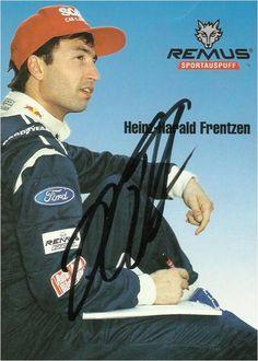Autograph:Heinz-Harald Frentzen ,Formula One driver.