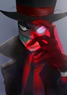 Character Creation, Character Design, Hd Phone Backgrounds, Hat Organization, Alastor Hazbin Hotel, Villainous Cartoon, Greatest Villains, Fanart, Cartoon Shows