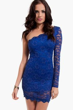 One on One Bodycon Dress $36 at www.tobi.com