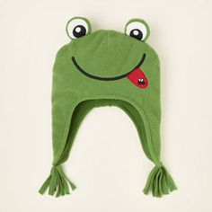 Fleece Frog Hat