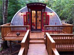 An especially gorgeous Quonset hut design