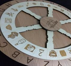 Pirate Themed Escape Room Cipher Wheel