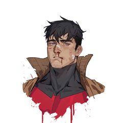 Red Hood Jason Todd, Minecraft Fan Art, Arkham Knight, The Revenant, Batman Family, Comic Games, Gotham, Marvel Dc, Cool Art