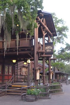 Pioneer Hall in Fort Wilderness