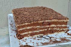Chocolate Lovers, Food For Thought, Tiramisu, Mango, Deserts, Food And Drink, Cookies, Cake, Ethnic Recipes