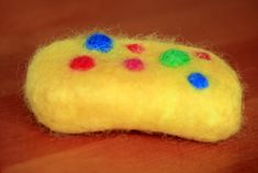 Great gifts to make cheaply - hand felted soap
