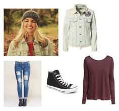 """Rydel Lynch Inspired"" by rossandharry ❤ liked on Polyvore featuring UNIF, Wet Seal, Converse and H&M"