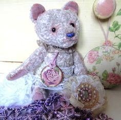 Ручная работа плюшевая мишка Роза