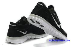 Herren Nike Free 3.0 V2 Anti -Pelz-Schuhe Schwarz Silber
