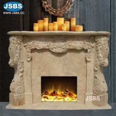 Stone Carved marble fireplace mantel Marble Fireplace Mantel, Home Fireplace, Marble Fireplaces, Fireplace Surrounds, Fireplace Mantels, Fireplace Stone, Marble Columns, Stone Columns, Marble Carving