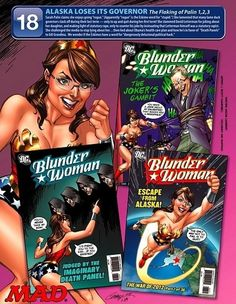 The 12 Best Sarah Palin Comic Covers