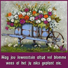 Mag jou lewenstuin altyd vol blomme wees Canvas Painting Designs, Small Canvas Paintings, Painting Patterns, Acrylic Painting Canvas, Pictures To Paint, Art Pictures, Stella Art, Rustic Painting, Easy Landscape Paintings