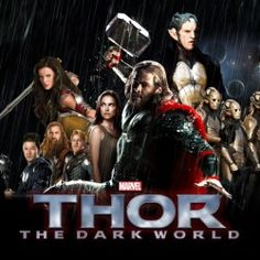 Someone w8 for Thor: The Dark World? I like this characters!