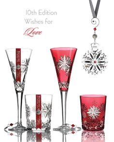 Waterford Crystal Snowflake Wishes - 2020 Love