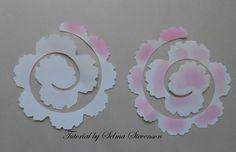 Selma's Stamping Corner  -- easy flower tutorial -- so pretty!