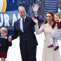 #William and #Kate #brought their #children, nearly #4-year-old Prince #George and...