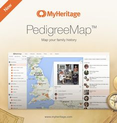 Introducing PedigreeMap™ — an Interactive Map of Your Family History - MyHeritage.com - English blog