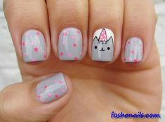 Top Trendy Easy Nail Art Designs For Kids 2018