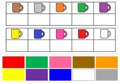 Dopasuj odpowiedni prostokąt - czyli zabawy z kolorami - ztorbynauczycielki Montessori Color, Montessori Activities, Preschool Worksheets, Life Skills Classroom, Fun Activities For Toddlers, Teaching Colors, Mathematics, Autism, Coloring Books