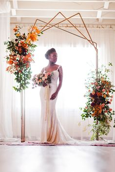Terracotta wedding inspiration should be on your radar, and we are here to show you why. Our Styled Social Dallas explored how earthy textures and bold colors could bring a natural vibe to a wedding in any space, and from the oriental rug aisle to the industrial hairpin table, these Dallas wedding vendors totally achieved that goal! #ruffledblog