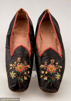 Shoes, mid 19th century