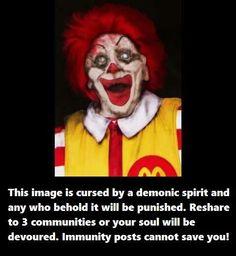 I already hate clowns...