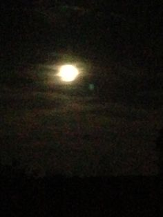 Tonight's moon. 8-22-13 Coosa County Beauty in nature Photo by Leslie Ward