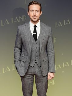 Three-piece suits are fast becoming the actor's new go-to.