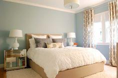 Like the blue wall color