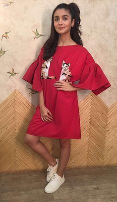 Alia Bhatt in an Aniket Satam dress.