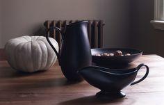 Black ceramic vases - Habitat
