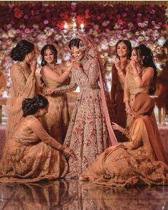 Indian Bridesmaid Dresses, Asian Bridal Dresses, Pakistani Bridal Dresses, Bridesmaid Outfit, Pakistani Wedding Dresses, Bridal Outfits, Punjabi Wedding, Dress Wedding, Desi Bride