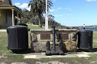 CHOWDER BAY at Mosman is a former naval base with restored historic buildings. It was so named because whalers used to make 'chowder' from the bay's abundant seafood.