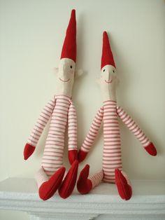 Christmas Pixies om zelf te maken. Binnenkort een how to artikel op de site!