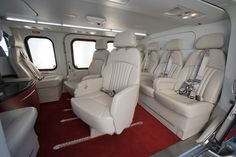 Here's a nice 8 passenger configuration.