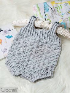 This Spring 2019 issue of Crochet! magazine gives you full-color photos, complete instructions, and how-to articles and techniques. Crochet Romper, Crochet Bobble, Crochet Baby Blanket Free Pattern, Crochet For Boys, Love Crochet, Learn To Crochet, Crochet Top, Stitch Patterns, Crochet Patterns