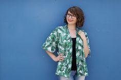 Tutorial: Einfachen Kimono selber nähen