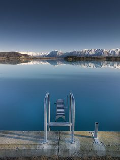 Lake Ruataniwha, south Island, New Zealand
