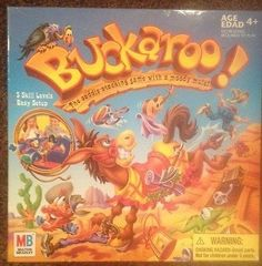 awesome BUCKAROO! CLASSIC KIDS FAMILY BOARD GAME Childrens By MB Games Free SHIPPING! - For Sale Check more at http://shipperscentral.com/wp/product/buckaroo-classic-kids-family-board-game-childrens-by-mb-games-free-shipping-for-sale/