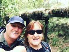 Another day of hiking fun with my honey #midlifehikers #forestfun