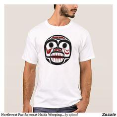 Northwest Pacific coast Haida Weeping skull T-Shirt