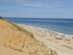 Cape Cod, MA. the sand dunes of the cape