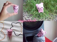 Pattern Head: R1: Ch 2, 7 sc on the 2nd ch from... – Abby's Amigurumi ♥