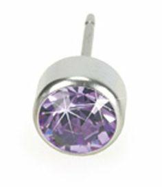 Nickel free 6mm Violet Blomdahl Titanium Earrings Blomdahl. $50.00. Medical grade Titanium. comfort Guaranteed. Nickel Free Titaniums. Swarovski Crystals