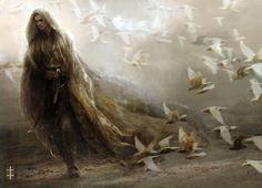 Helian Doves - 30 Mind Blowing Fantasy Artworks  <3 <3