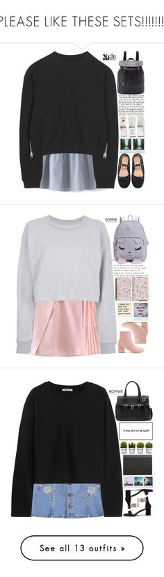 """""""PLEASE LIKE THESE SETS!!!!!!!!"""" by scarlett-morwenna ❤ liked on Polyvore featuring Acne Studios, Polaroid, GUESS, vintage, Maison Margiela, Billabong, T By Alexander Wang, Topshop, The French Bee and Threshold"""